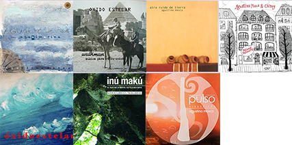 Les sept albums d'Agustina Mosca