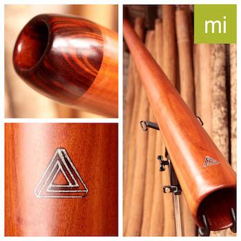 Photo du didgeridoo en Mi modèle dit classique